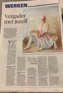 Vergader met Jezelf in het NoordHolland Dagblad