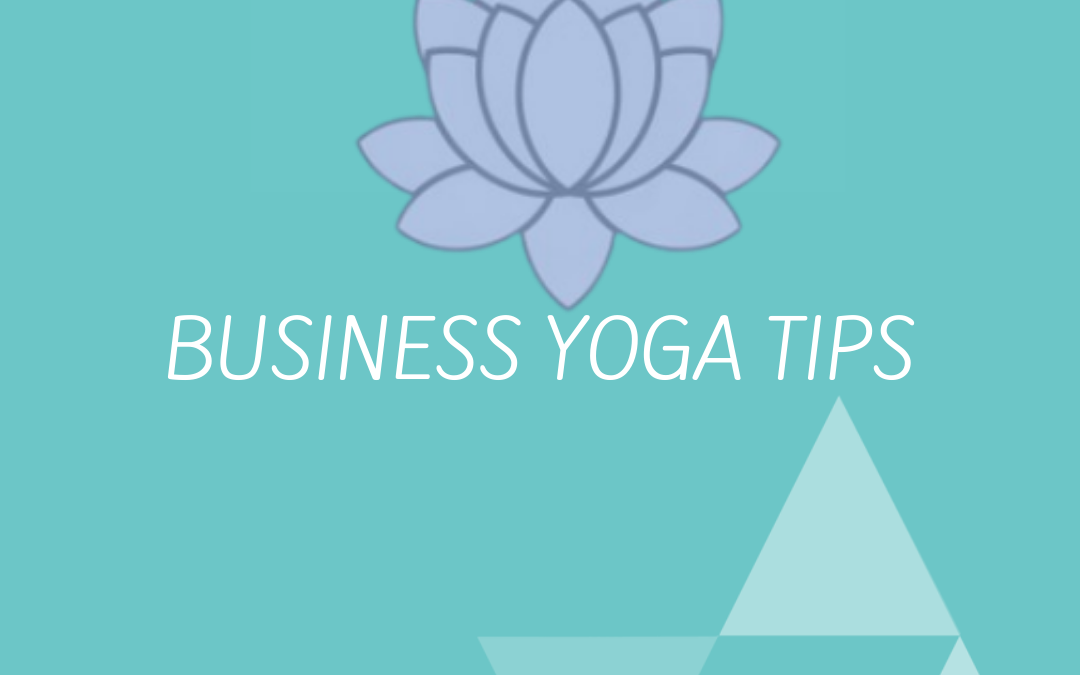 BUSINESSYOGA TIPS afbeelding